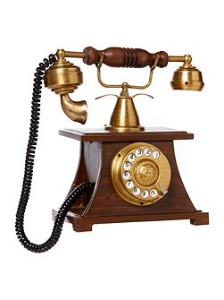 Vintage phone ornament