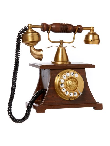 Linea Vintage phone ornament