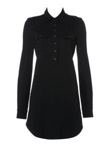 Lauren Ralph Lauren Anica 3/4 Sleeve Shirtdress
