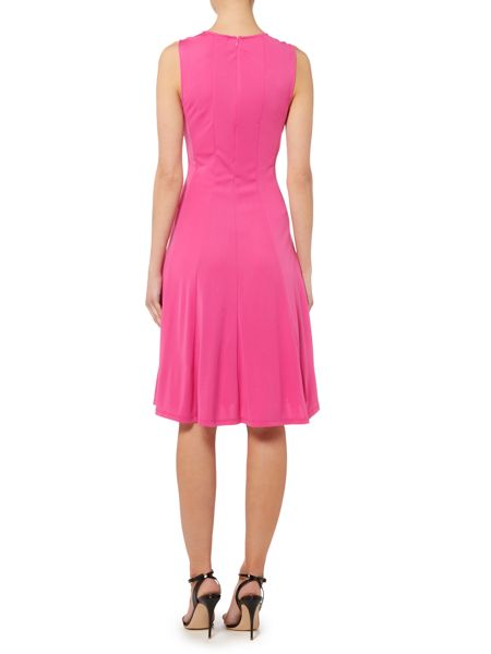 Lauren Ralph Lauren Allana sleeveless crewneck dress