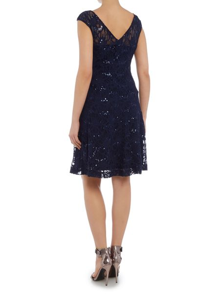 Lauren Ralph Lauren Sequin lace shift dress