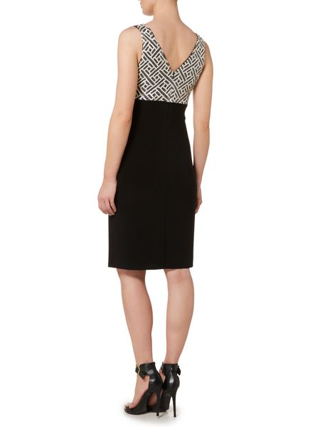 Lauren Ralph Lauren Beaded top jersey dress