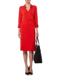 Linea Jersey wrap dress