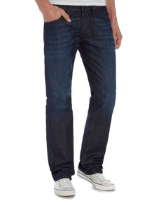 Larkee 884C straight stretch jeans