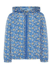 Little Dickins & Jones Girls Floral print bomber jacket