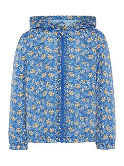 Little Dickins & Jones Girls Floral print bomber