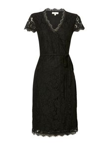 Linea Lace wrap dress