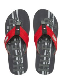 Tommy Hilfiger Fabric Sandals
