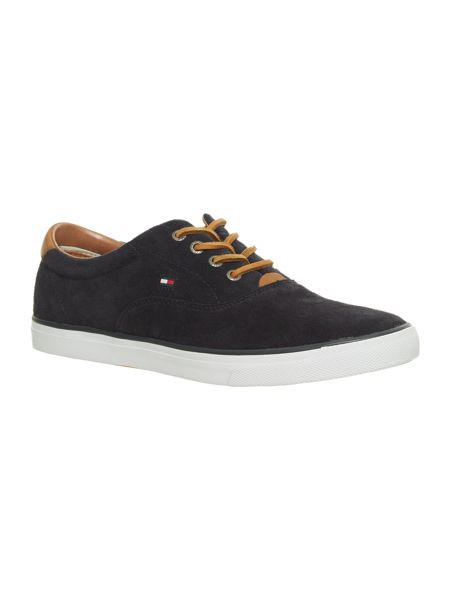 Tommy Hilfiger Suede Lace-Up Trainers