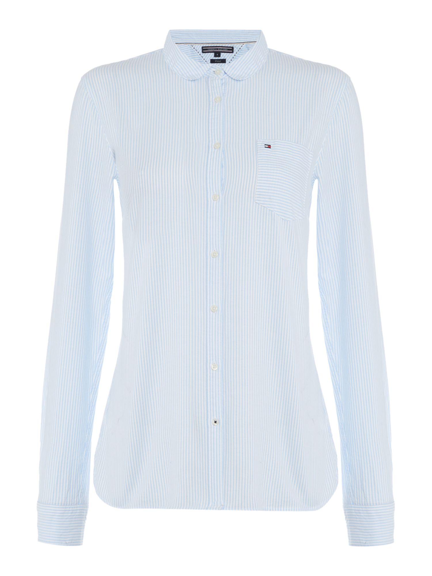 Tommy Hilfiger Sithaca Stripe Shirt, Light Blue