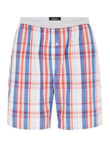 Hugo Boss Check Nightwear Shorts