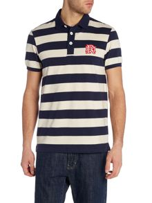 Front Up Rugby Hoop Stripe Polo