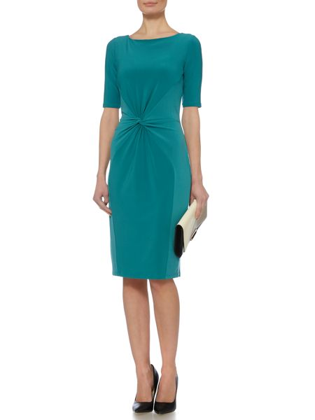 Linea Knot twist detail jersey dress