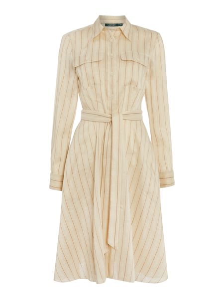 Lauren Ralph Lauren Ataulfo long sleeve shirtdress