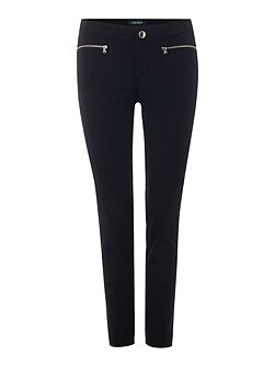 Shadrina slim leg trouser with zip pockets
