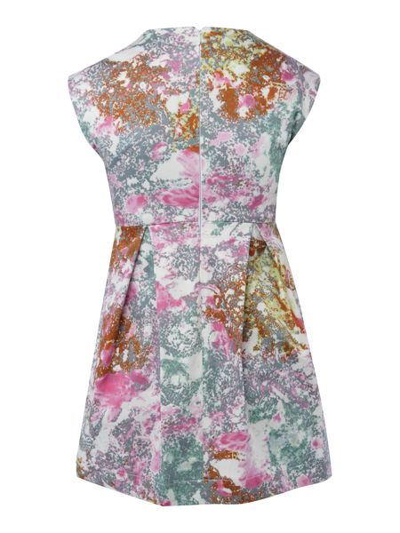 French Connection Girls Cap Sleeve Printed Dress