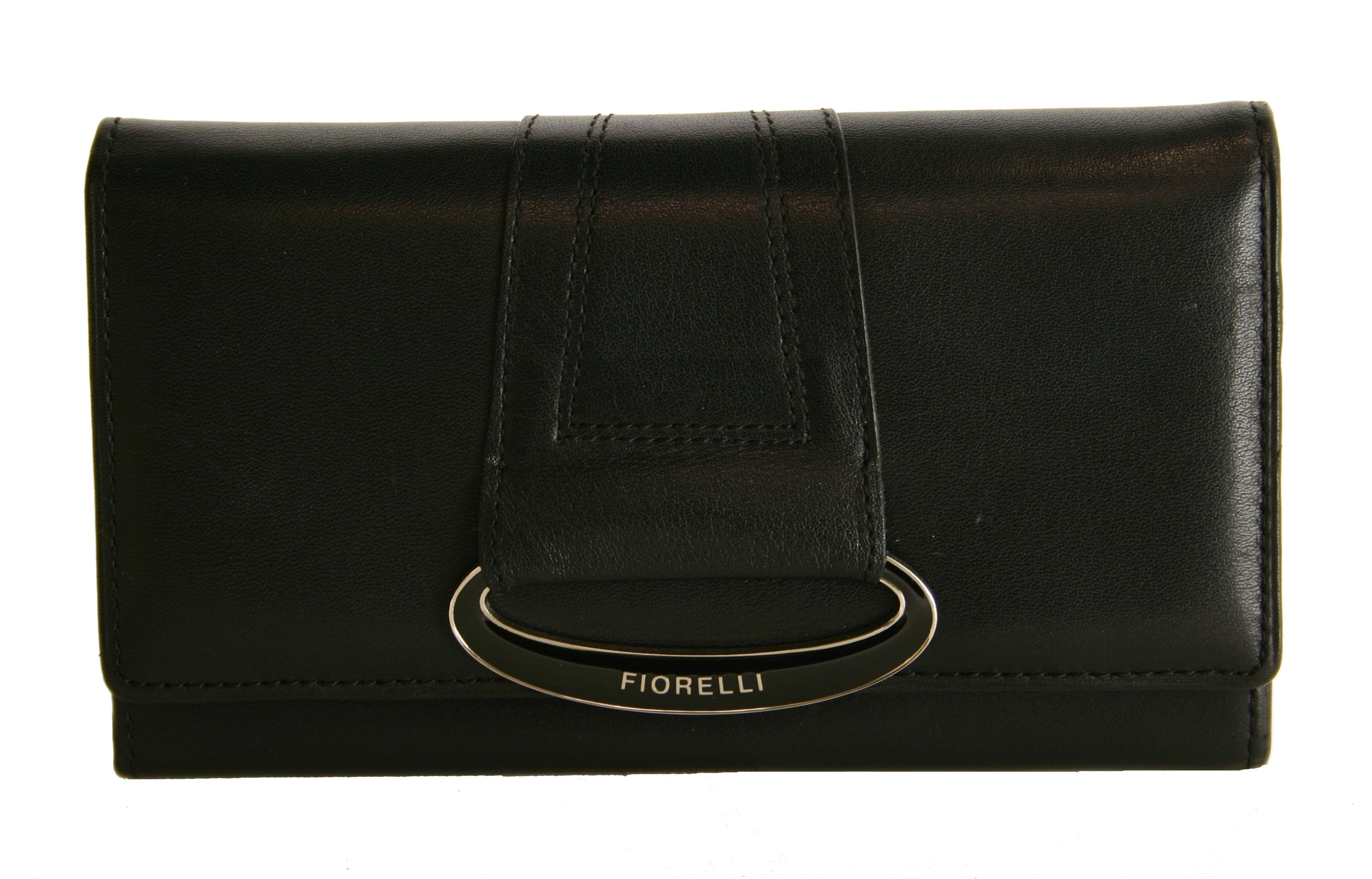 Fiorelli Oval medium leather flap-over purse product image