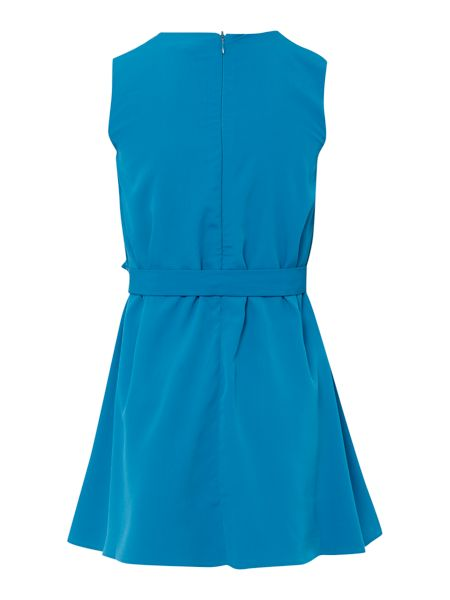 French Connection Girls Embellished Shoulder Shift Dress