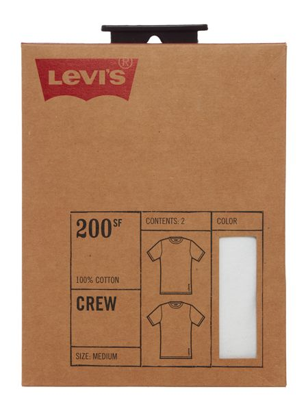 Levi's 2 pack crew neck t-shirt set