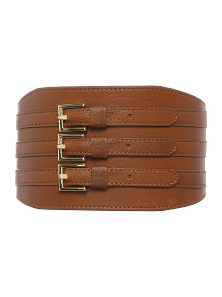 Biba Biba triple buckle waist belt