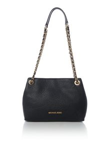 Michael Kors Jet set black chain tote