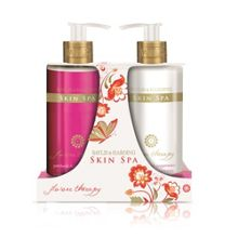 Skin Spa Flower Therapy Two Bottle Hand Set
