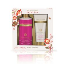 Skin Spa Flower Therapy Two Piece Body Gift Set