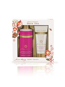 Skin Spa Flower Therapy Two Piece Body Gift