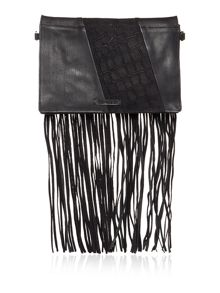 Label Lab Arizona fringe crossbody bag