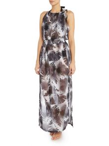 Biba Mono Palm Grecian Cover Up