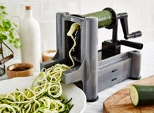 Linea Grey worktop spiralizer