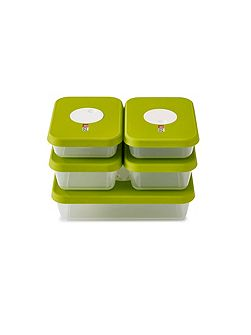 Joseph Joseph Dial storage 5-piece container set Rectangular