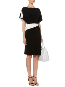 Lauren Ralph Lauren Lea 2 tone dress