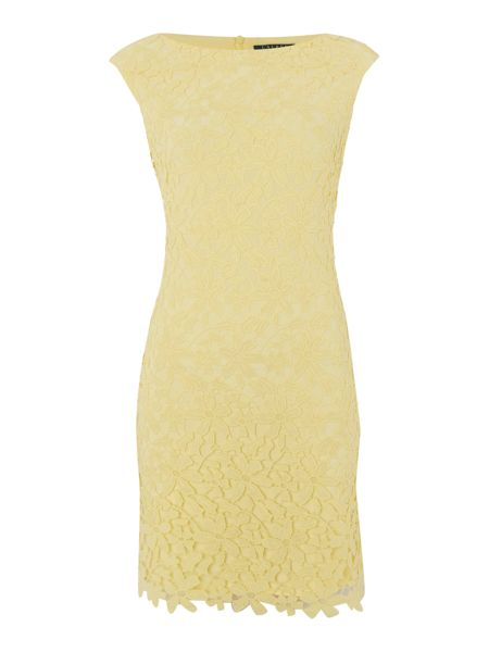 Lauren Ralph Lauren Lace cap sleeve dress