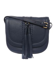 Dickins & Jones Seaton saddle crossbody bag