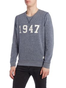 Wrangler Regular fit 1947 crew neck sweatshirt