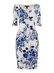 Lauren Ralph Lauren Floral print wrap dress