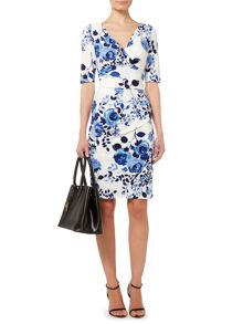 Lauren Ralph Lauren Chelsie 3/4 sleeve dress