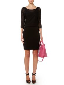 Onix 3/4 sleeve dress