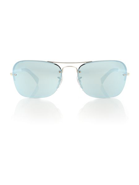 Ray-Ban Havana square 0RB4169 LARAMIE sunglasses