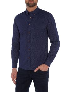 Wrangler Regular fit button down printed shirt
