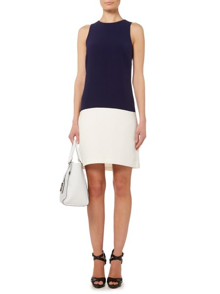 Lauren Ralph Lauren Dru Sleevesless crewneck dress
