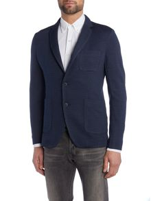 Sisley Men Dogtooth Blazer