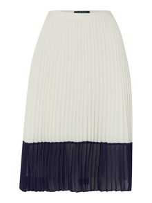 Lauren Ralph Lauren Tazumi pleated skirt