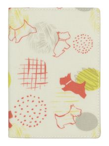 Scribble Print multicoloured passport cover