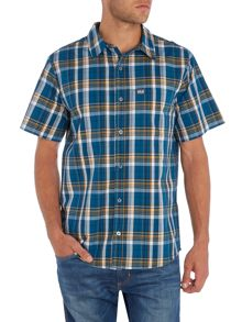 Jack Wolfskin Regular fit check short sleeve shirt