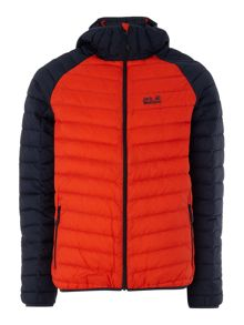 Jack Wolfskin Zenon padded lightweight zip through jacket