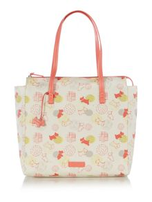 Radley Scibble Print multicoloured large tote bag