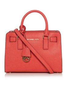 Michael Kors Dillon coral tote bag