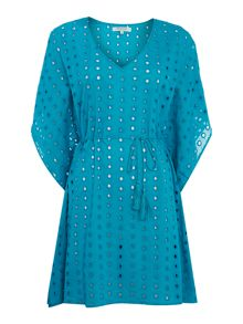 Dickins & Jones Tassel Tie Kaftan